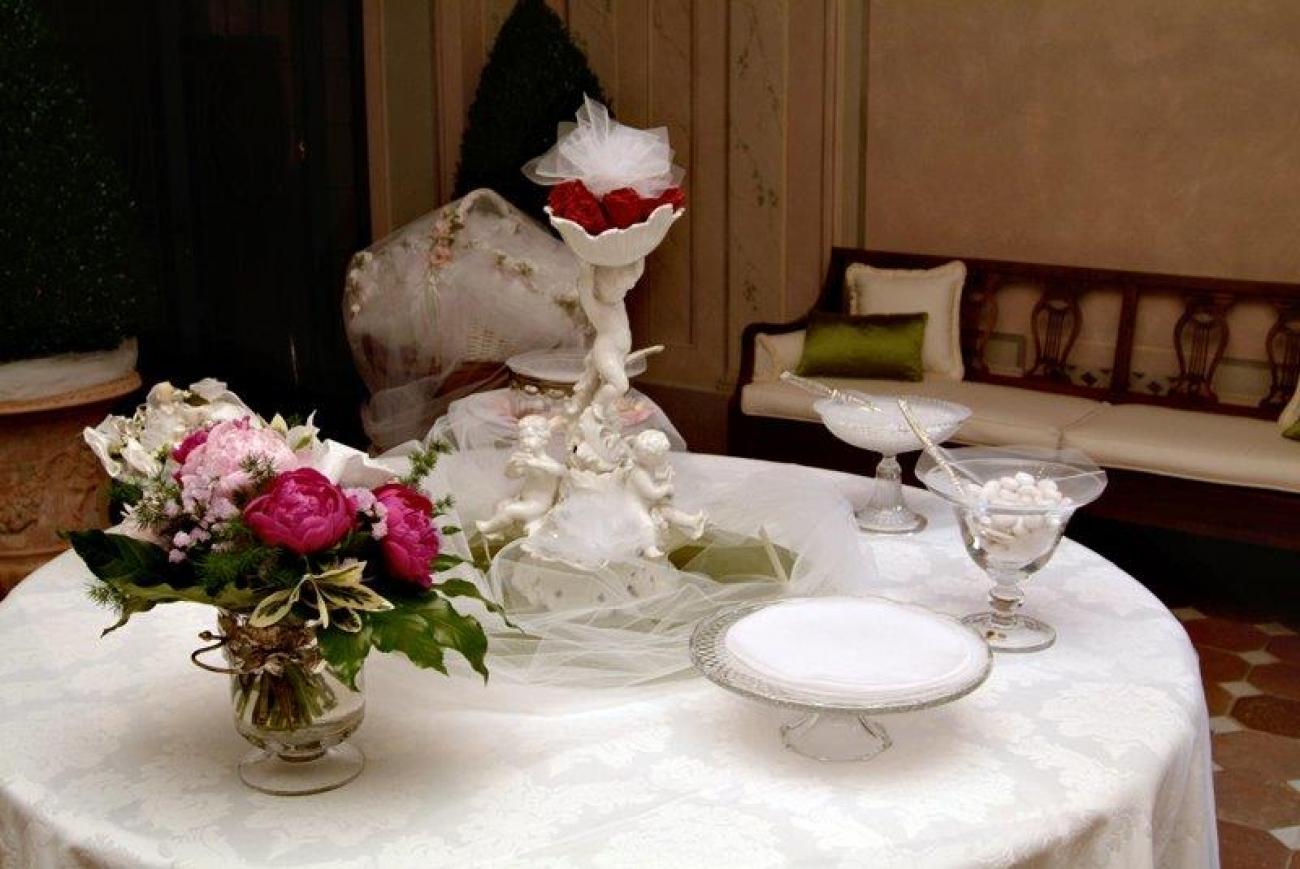 Addobbi prima comunione vz04 regardsdefemmes - Addobbo tavola prima comunione ...
