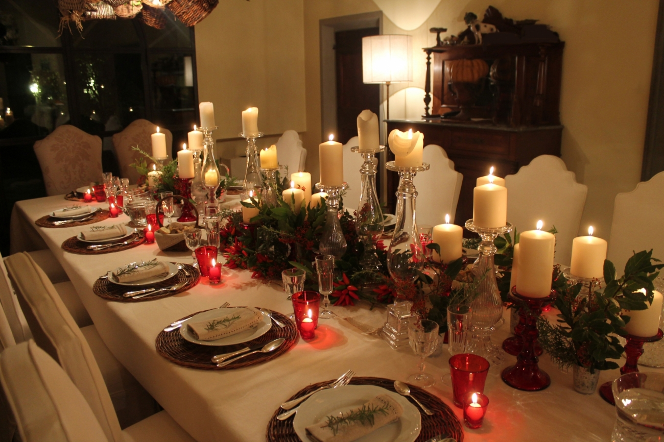 Tavola di natale decorazioni tavola addobbi tavola di for Decorazioni tavola natale